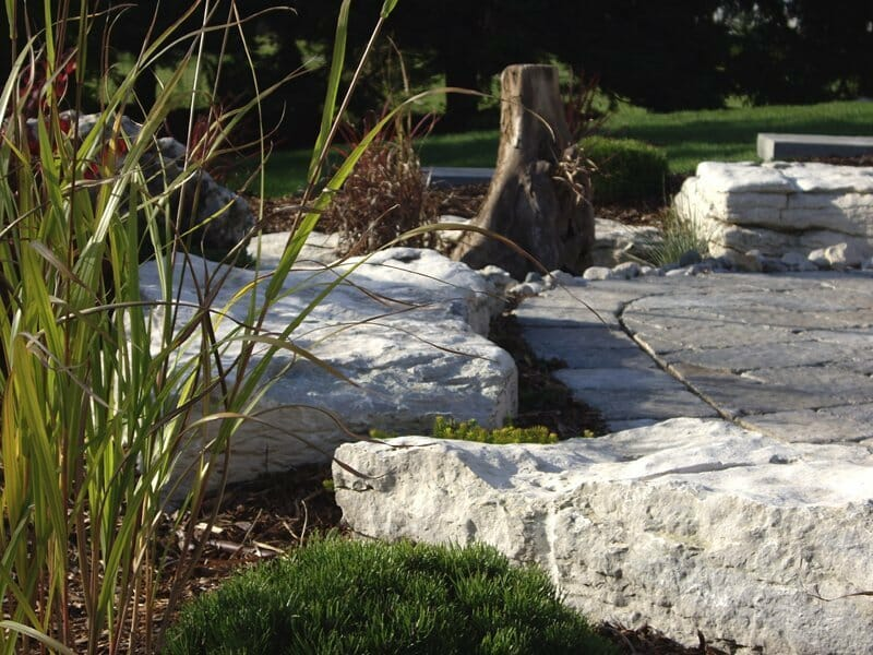 Natural Armour Stone - London, Ontario Landscaping & Custom Landscape Design