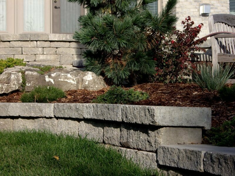 Retaining Wall Stone - London, Ontario Landscaping & Custom Landscape Design