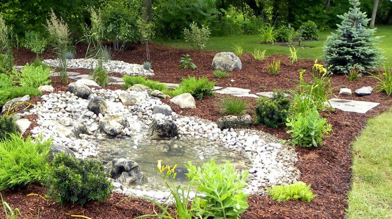 Backyard Pond - London, Ontario Landscaping & Custom Landscape Design