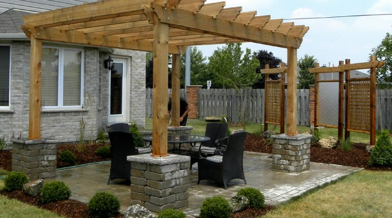 Landscaping London, Ontario - Mike Wilkins - SimpliScapes Project 1-3