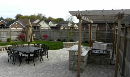 Landscaping London, Ontario - Mike Wilkins - SimpliScapes Project 18-3