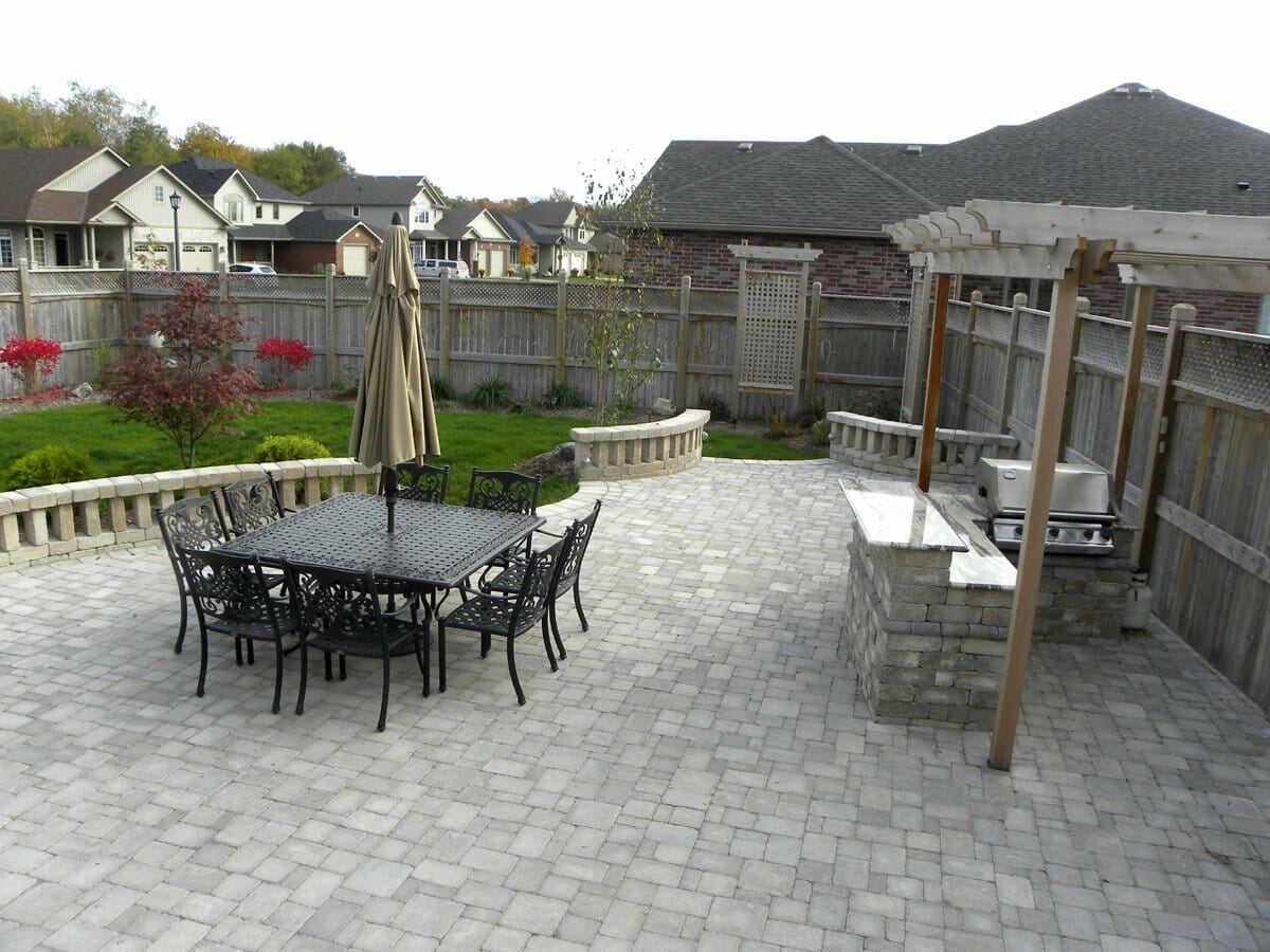 Landscaping London, Ontario - Mike Wilkins - SimpliScapes Project 18-5