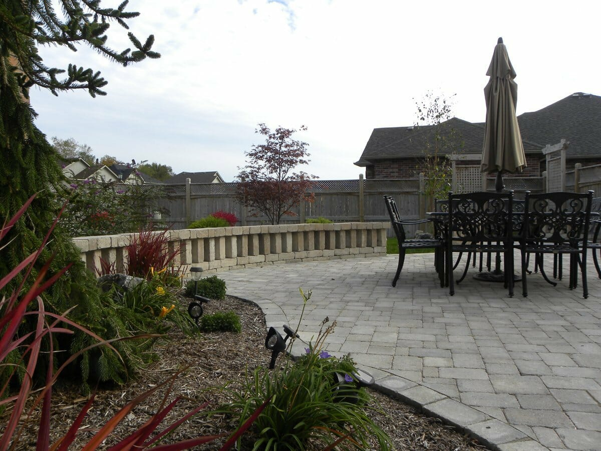 Landscaping London, Ontario - Mike Wilkins - SimpliScapes Project 18-6
