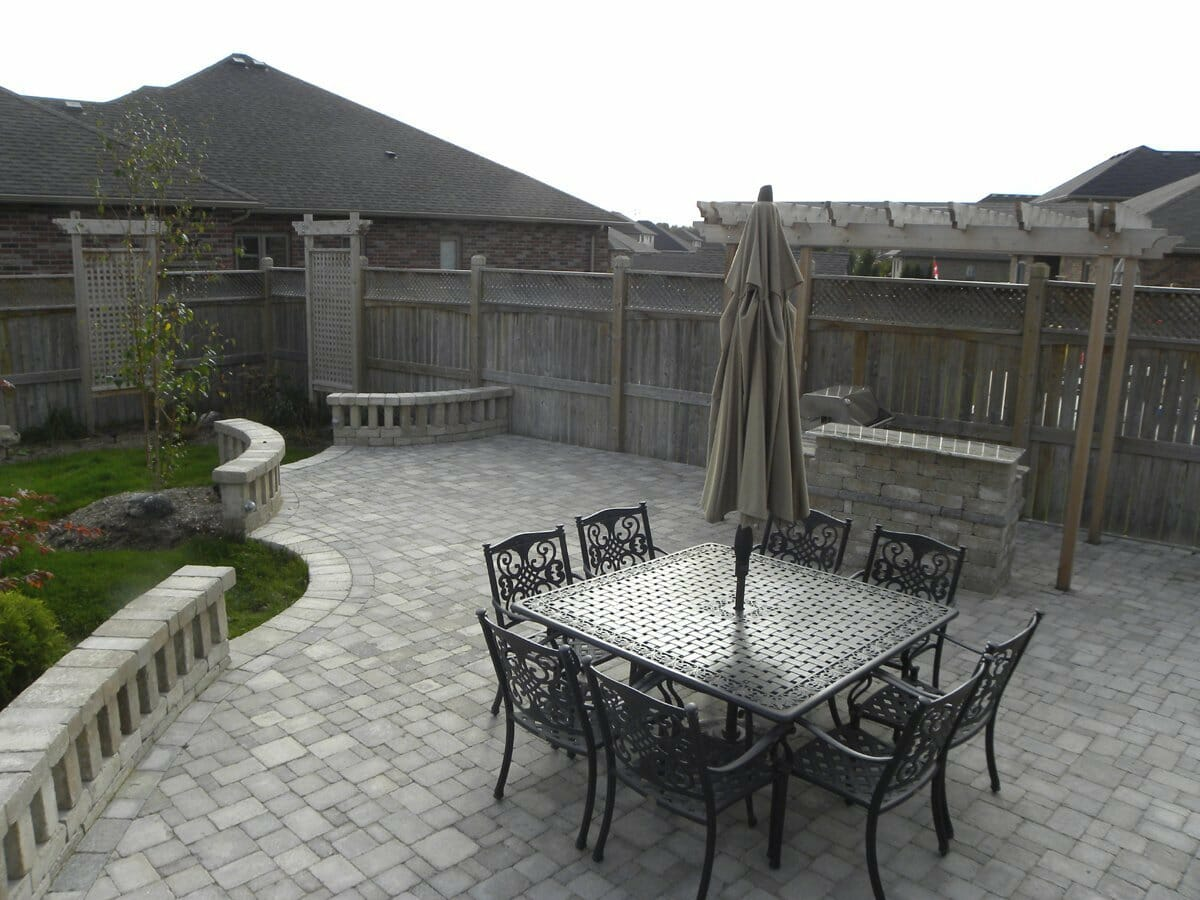 Landscaping London, Ontario - Mike Wilkins - SimpliScapes Project 18-7
