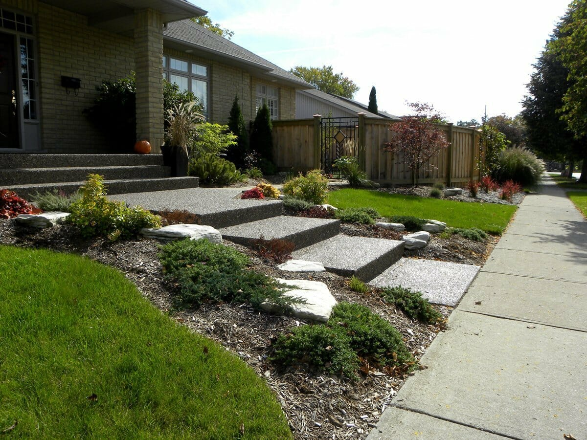 Landscaping London, Ontario - Mike Wilkins - SimpliScapes Project 19-4