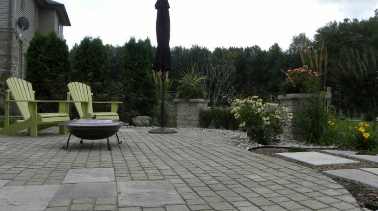 Landscaping London, Ontario - Mike Wilkins - SimpliScapes Project 5-3