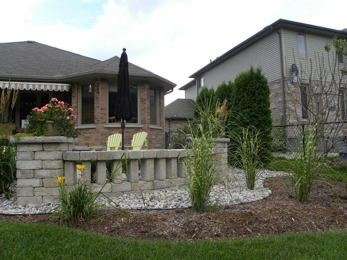 Landscaping London, Ontario - Mike Wilkins - SimpliScapes Project 5-4