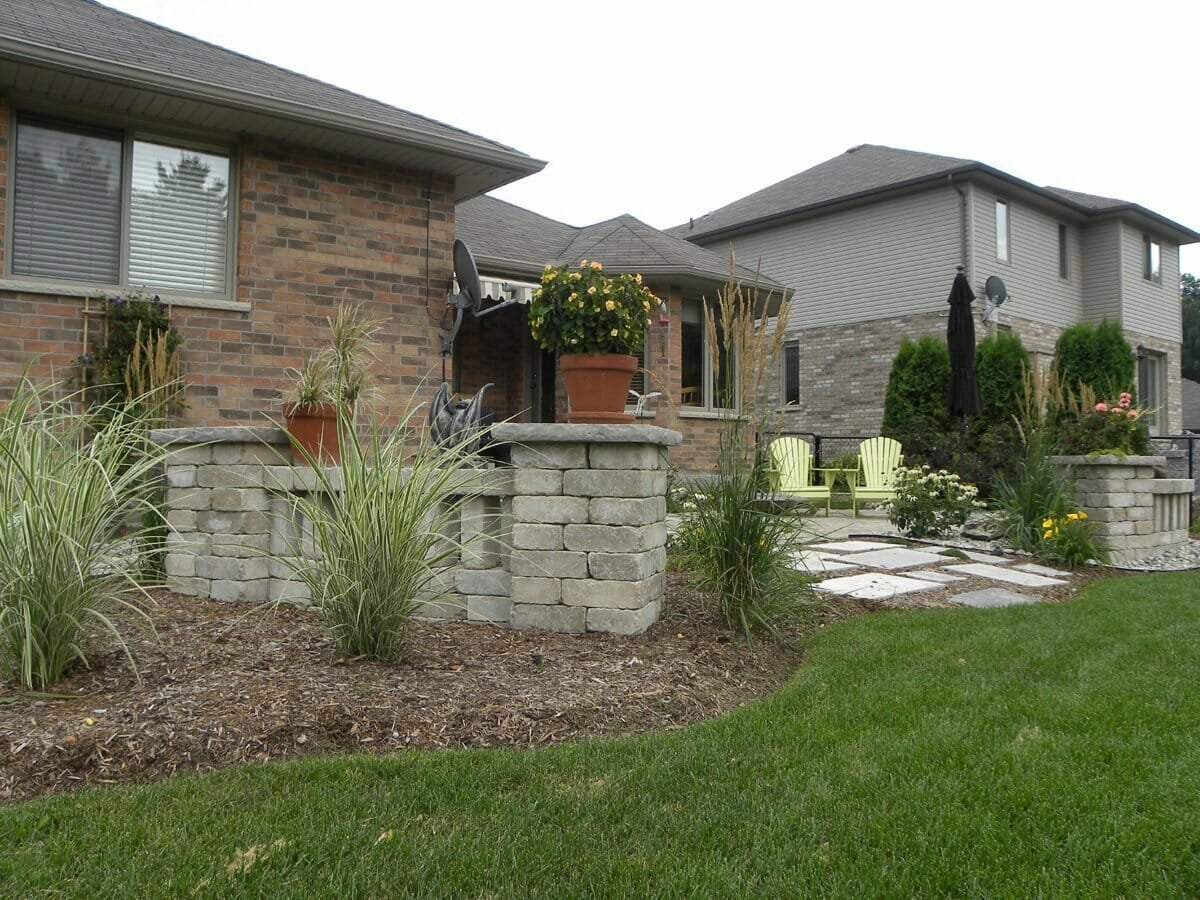 Landscaping London, Ontario - Mike Wilkins - SimpliScapes Project 5-5