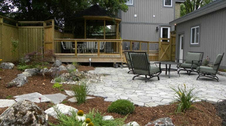 Landscaping London, Ontario - Mike Wilkins - SimpliScapes Project 6-3