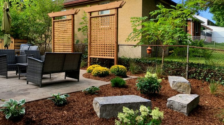 London, Ontario Landscaping - SimpliScapes Backyard Website 3