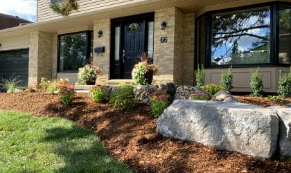 London, Ontario Landscaping - SimpliScapes Front Yard Website 4