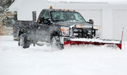 Snow Plowing London, Ontario - SimpliScapes 2