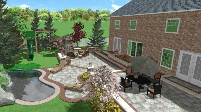 Backyard Landscape Design In London Ontario - SimpliScapes