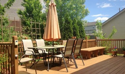 Deck Installation London, Ontario - SimpliScapes