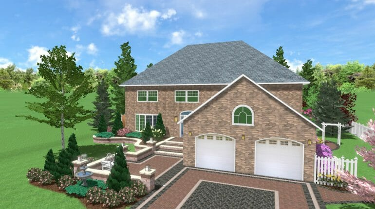 Front Yard Landscape Design In London Ontario - SimpliScapes