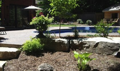 Pool Landscaping London, Ontario - Simpliscapes